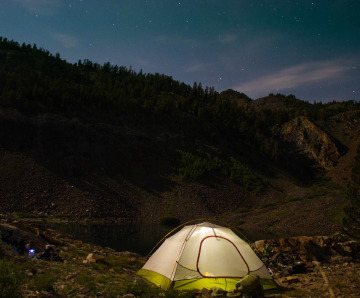 Why do you need a tent for camping?
