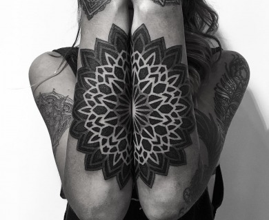 109 Of The Most Stylish Mandala Tattoos You Will Ever See