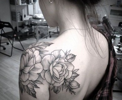 38 Delicious Shoulder Tattoos For Women