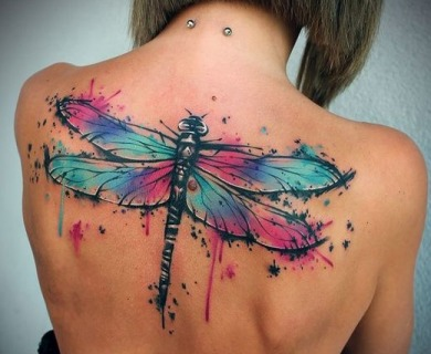 49 Exquisite Watercolor Tattoos