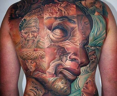 65 Mind Bending 3D & Optical Illusion Tattoos