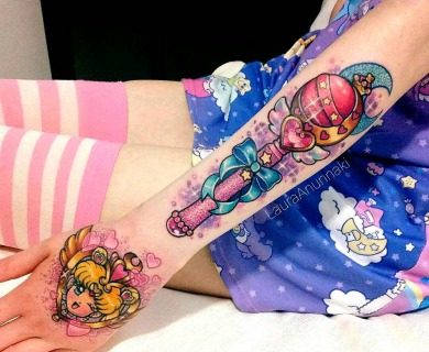 A Girl's Dream Come True, Kawaii Tattoos