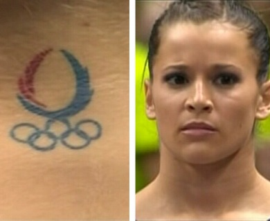 Alicia Sacramone Tattoos