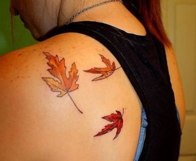 Amazing autumn style tattoos