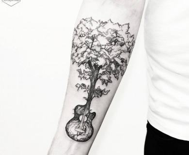 Artist Spotlight: Diana's Magical Nature Tattoos