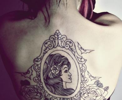 Awesome mirror tattoos