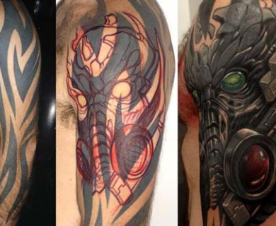 Best Cover Up Tattoos