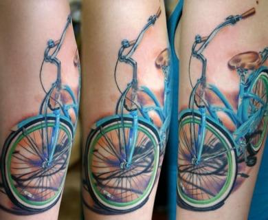 Cool bikes tattoos