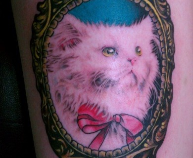 Cute cats tattoo