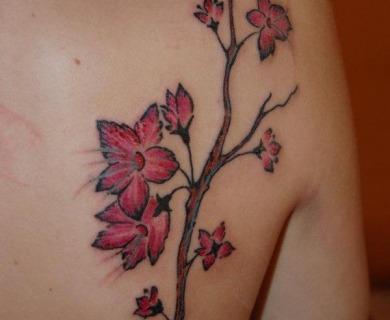 Delicious cherry tattoos