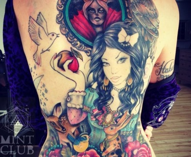 Fairy tale tattoos