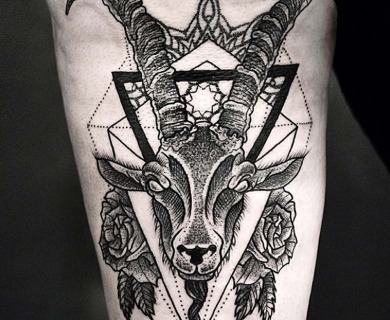 Goat tattoos