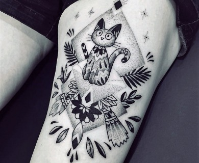 Have You Seen These Mind Blowing Blackwork Tattoos?