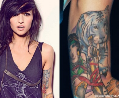 Lights Poxleitner Tattoos Celebrity