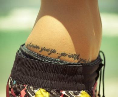Lovely hips tattoos