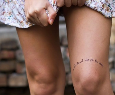 Lovely meaningful tattoos