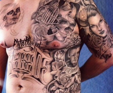 Lowrider Art Tattoos