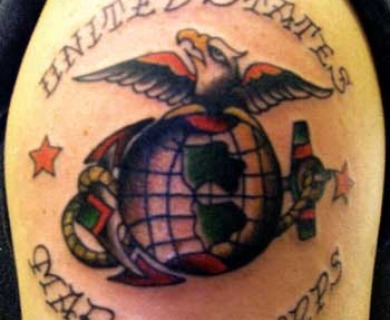 Marine Corps Tattoo Designs