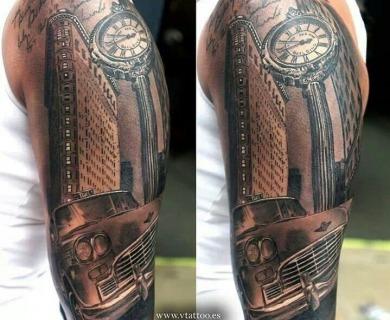 Modern car's tattoos