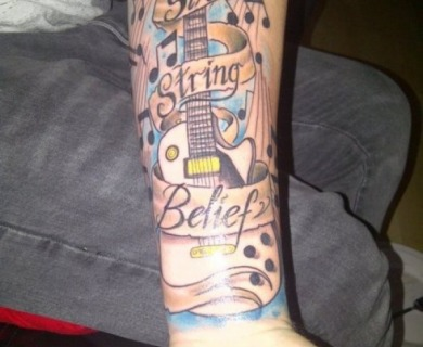 Music style tattoos