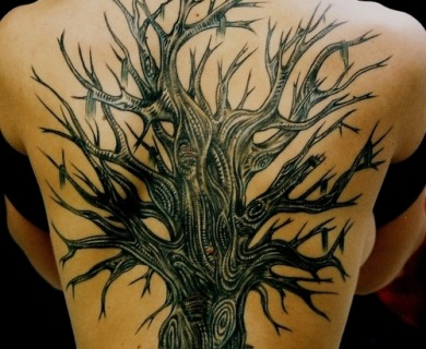 Oak tree tattoos