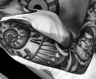 Pick Your Next Tattoo From a Historial Black and White Image