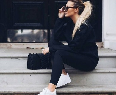 Rule Of The Thumb For All Black Outfit Women Look