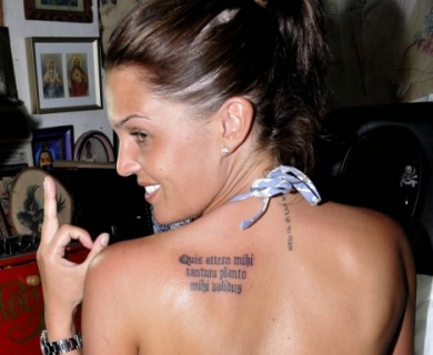 Shoulder Tattoos For Women