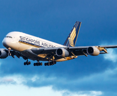 Singapore Airlines A380 | Get Cheap Fares On Flight Booking