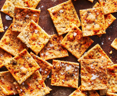 Sourdough Crackers Recipe | Here's How To Make It!