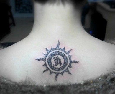 Sun tattoo designs