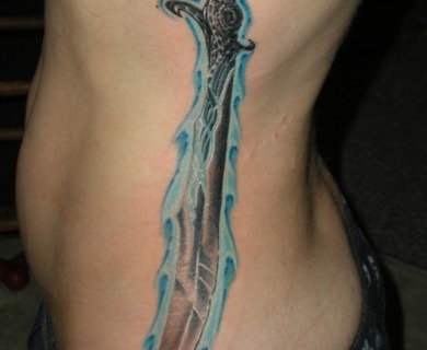 Sword Tattoos For Men