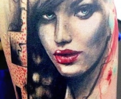 Tattoo by Adam Kremer