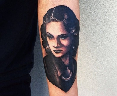 Tattoo by Pari Corbitt