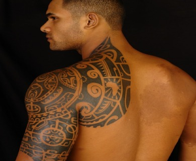 The Rock Tribal Tattoo