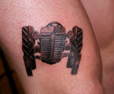 Tractor tattoos