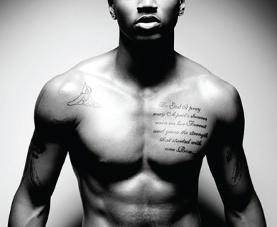 Trey Songz Tattoo On His Chest