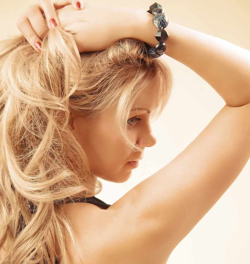 Loosen up your hair