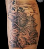 mirackle samuray japan tattoo