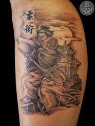mirackle samuray japan tattoo