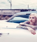 Girl tattoo car