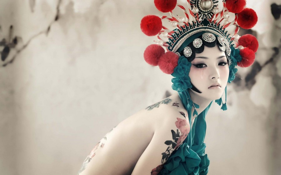 Girl tattoo china