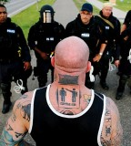 Men Tattoo designs 1 vs police