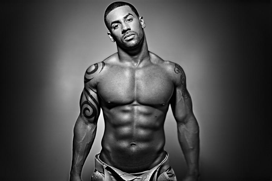 Men Tattoo designs black six pack