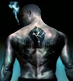 Men Tattoo designs dark back