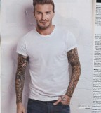 Men Tattoo designs david beckham