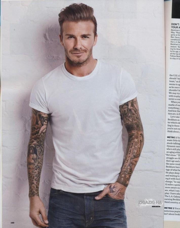 Men Tattoo designs david beckham