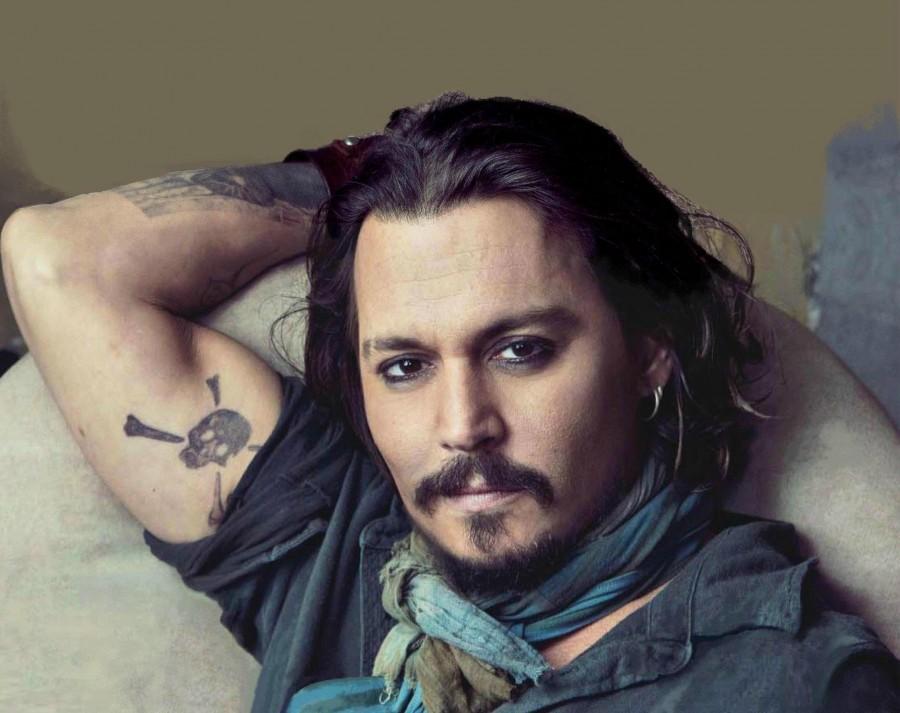Men Tattoo designs johnny depp