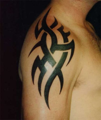 arm tattoo designs black tribal