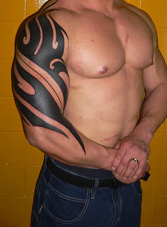 arm tattoo designs tribal